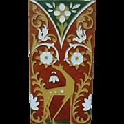 1 of 3 Art Deco Spanish Mensaque Rodriguez Sevilla Spain Tile Nouveau