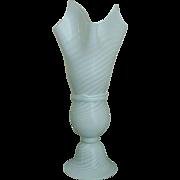 Vetri Italian Glass Handkerchief Lamp Murano Venetian Vintage Mid Century Modern Italy