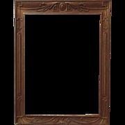 Art Deco Picture Frame Gilt Wood & Gesso Vintage Nouveau for Painting Print Mirror Photograph