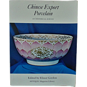 Chinese Export Porcelain Book Asian Oriental