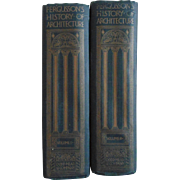 Fergusson's History of Architecture Vol. 1 & 2 c. 1907 Hardcover Books