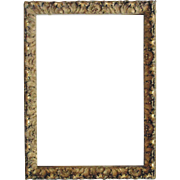 Ornate Antique French Rococo Picture Frame Gilt Wood & Gesso Baroque