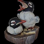 Vintage Boehm Young Boneparte's Gulls Bird Porcelain Figurine England