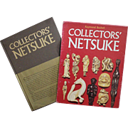 Collectors' Netsuke Raymond Bushell Book First Edition Japanese