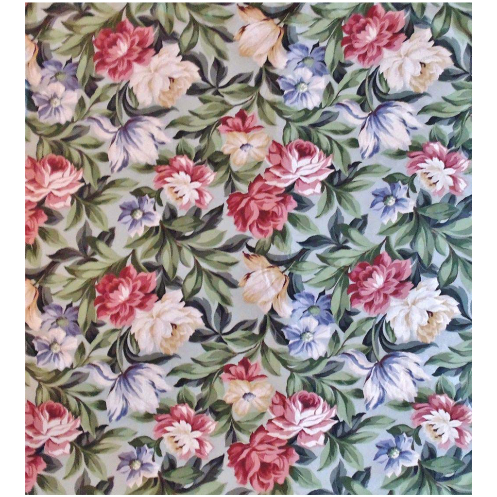 23 yards chintz fabric saison floral flowers from for Chintz fabric