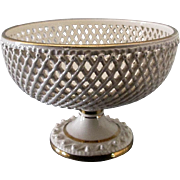 Reticulated continental compote ornate and fancy Italy