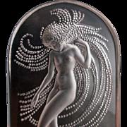 Lalique plaque Mermaid Siren Beautiful