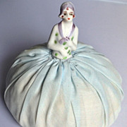 Vintage Art Deco Half Doll Pin Cushion