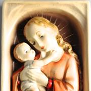 Hummel Madonna Wall Plaque 49/0 TMK 3
