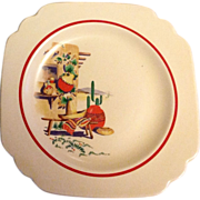 Homer Laughlin Hacienda Bread and Butter Plate