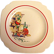 Homer Laughlin Luncheon Plate Hacienda Design