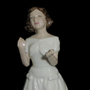 "Royal Doulton Figurine HN3764 ""Welcome"" Collector's Club"