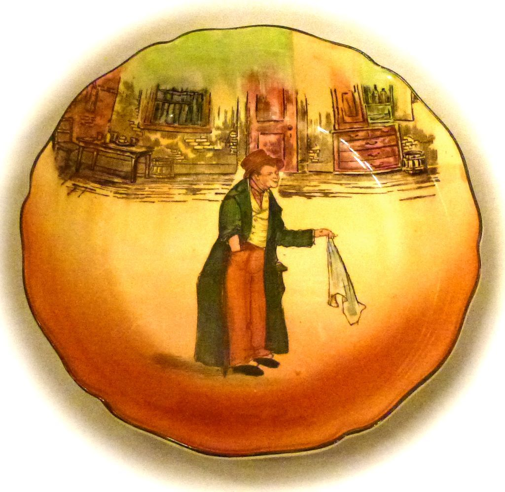 Royal Doulton Bowl~ The Artful Dodger D5175