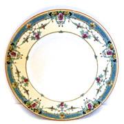 Royal Worcester Daytona ~ Turquoise Salad Plate