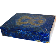 Large Lapis Lazuli Specimen Box Lapidary Wonder
