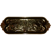 Neoclassical F. Levillain Bronze Tray (Barbedienne Foundry)