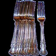 "Gorham Cambridge Sterling Silver 7"" Fork- No Mono"