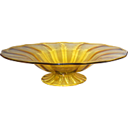 Large Carder Steuben Art Glass Bowl #6270 in Topaz