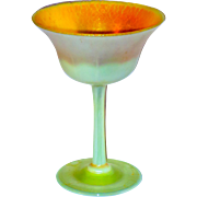 Tiffany Favrile Heat Reactive Stemmed Compote