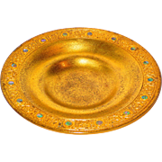 Tiffany Studios Gilt Bronze & Abalone Bowl