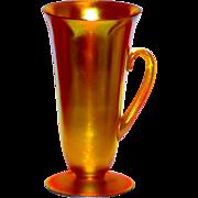 Rare Steuben Gold Aurene #5099 Tall Iced Tea Glass