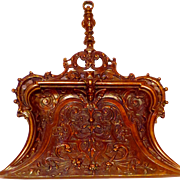The Finest Antique Solid Bronze Baroque Inspired Crumb Tray