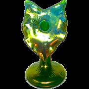 Loetz Art Nouveau Iridescent Jack-in-the-Pulpit Vase