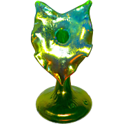 Loetz Art Nouveau Iridescent Jack-in-the-Pulpit Vase