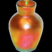 Early Steuben Aurene #237 Iridescent Vase