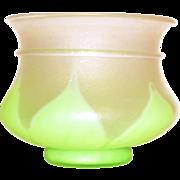 Steuben Florentia Art Glass Vase