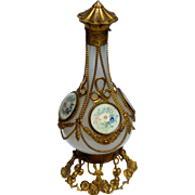 Large White Opaline Palais Royale Grand Tour Scent Bottle