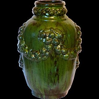 Large Galloway of Philadelphia Arts & Crafts Pottery Vase