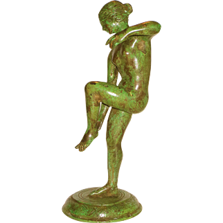 Ca. 1870 Grand Tour Bronze Nude Venus after the Antiquity