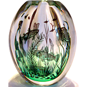 Orrefors Edward Hald Graal Fish Vase