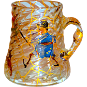 Mt. Washington Napoli Mug w/Palmer Cox Brownie Figures
