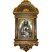 Baroque Style Tabernacle Icon Sacred Heart of Jesus