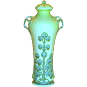 Important Antique Sevres Porcelain Art Nouveau Designer Hydrangea Vase