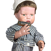 Darling Vintage Occupied Japan Mini Doll Sized Harmonica!