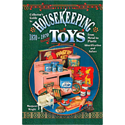 Doll Reference Book!  Housekeeping Toys 1870 - 1970 - Doll Kitchens Domestic Items!