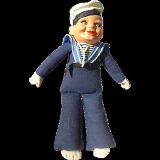 Norah Wellings Compo Sailor Boy 1930s-40s Excellent Condition