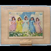 1942 Dionne Quints Calendar  Small Size Complete