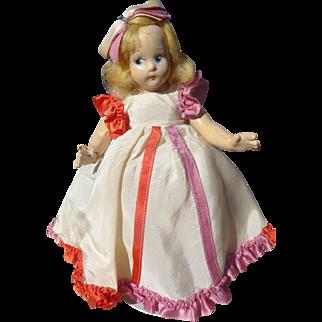 "Madame Alexander 1930s Compo Tiny Betty ""America"""