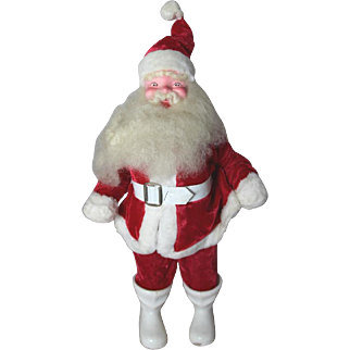 Christmas 1950s Santa Claus Doll - Harold Gale