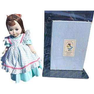 Little Lady Powder Boxed Powder Mitt by Helene Pessl for Alexander Little lady Doll