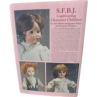 Out of Print HB SFBJ Character Children Book Anne Porot and Francois Theimer