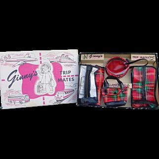MIB 1954 Ginny Trip Mates Luggage Set