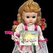 1955 Calendar for Ginny Sized Doll or Dollhouse!