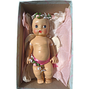 Rare HTF Madame Alexander Little Cherub in Original Box 1952