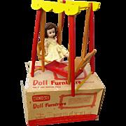 Strombecker Ginny MA Swing in Original Box 1950s