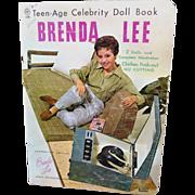 Uncut 1961 Brenda Lee Paper Doll Book